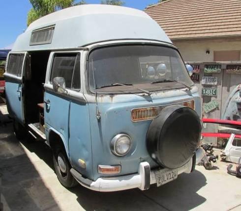 1972 Volkswagen Bus Camper For Sale in Temecula, California