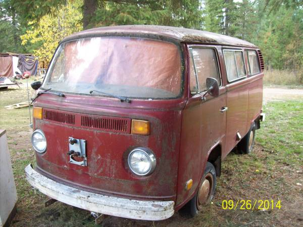 1974 VW Bus Camper Conversion For Sale in Spokane, WA