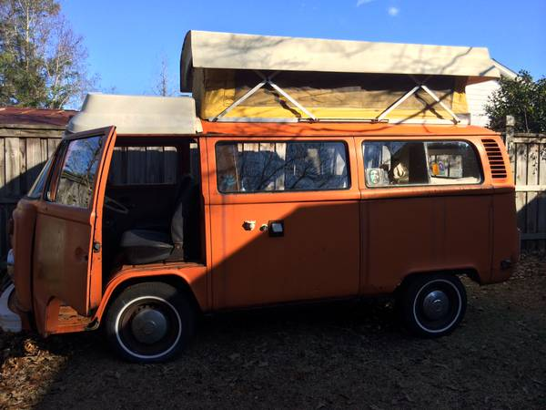 1975 VW Bus Camper Conversion Parts For Sale in Wilmington, NC