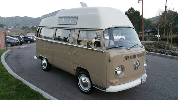 1968 VW Bus Camper For Sale in Orange County, CA