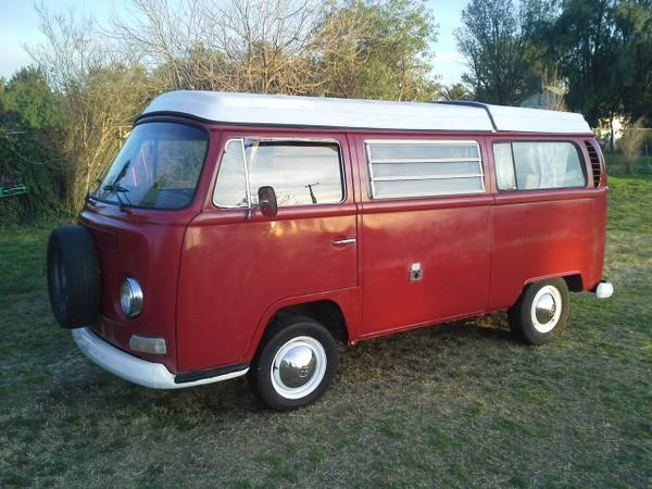 1969 vw bus camper westfalia for sale in riverside ca. Black Bedroom Furniture Sets. Home Design Ideas