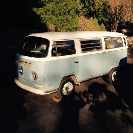1971 vw bus camper westfalia for sale in edmonds wa. Black Bedroom Furniture Sets. Home Design Ideas