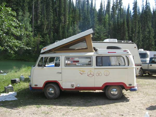1971 VW Bus Camper Conversion For Sale in Montana