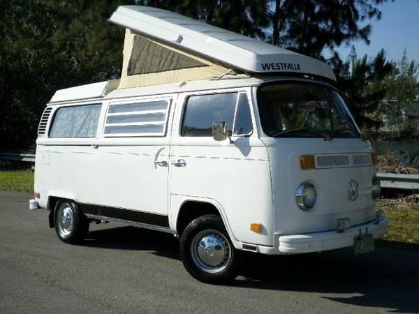 1973 VW Bus Camper Westfalia For Sale in Fort Lauderdale, FL