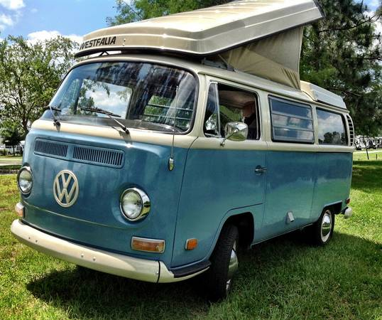 1970 Vw Bus Camper Westfalia For Sale In Western Illinois