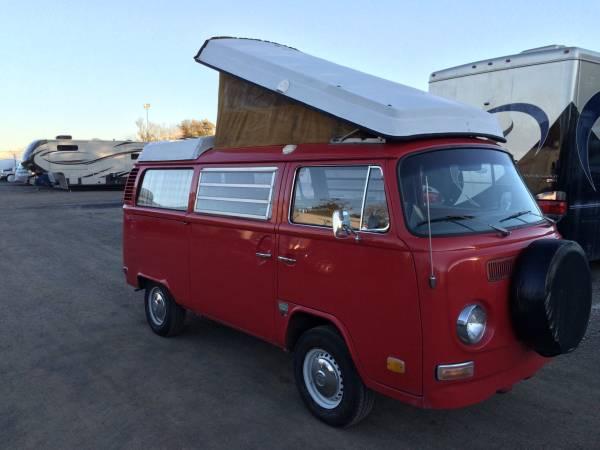 1972 VW Bus Camper Westfalia For Sale in Dublin, CA