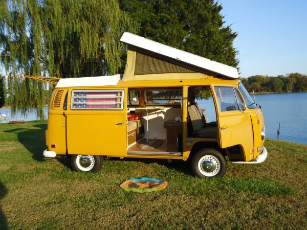 1973 VW Bus Camper Conversion For Sale in Litchfield, MI