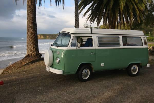 1974 vw bus camper westfalia for sale in newport beach ca. Black Bedroom Furniture Sets. Home Design Ideas