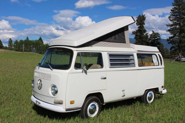 vw bus for sale in montana westfalia camper van conversions. Black Bedroom Furniture Sets. Home Design Ideas