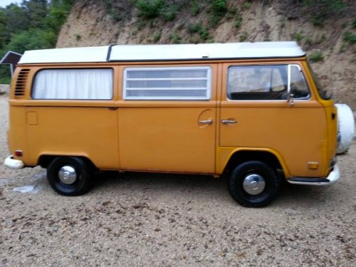 1972 VW Bus Camper Campmobile For Sale in La Crosse, WI