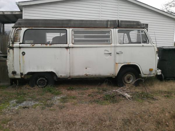 1975 Vw Bus Camper Westfalia For Sale In Telford Tn