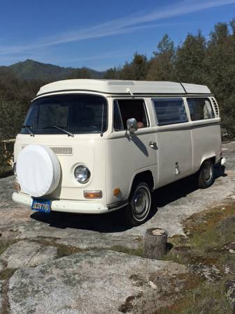 1971 Vw Bus Camper Westfalia For Sale In San Francisco Ca