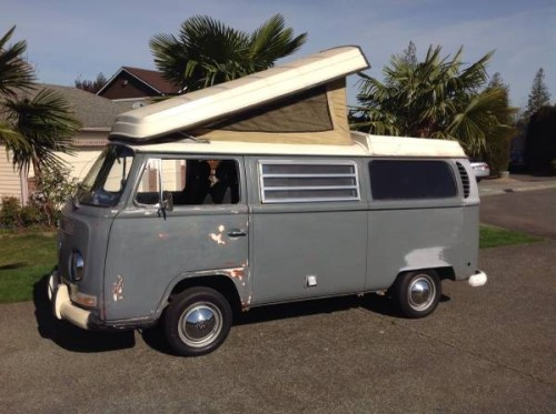 1970 VW Bus Camper Conversion For Sale in Kent, WA