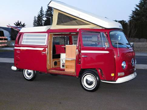 1971 vw bus camper westfalia for sale in charleston wv. Black Bedroom Furniture Sets. Home Design Ideas