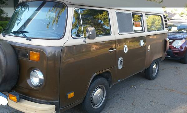 1979 VW Bus Camper Conversion For Sale in Fresno, CA