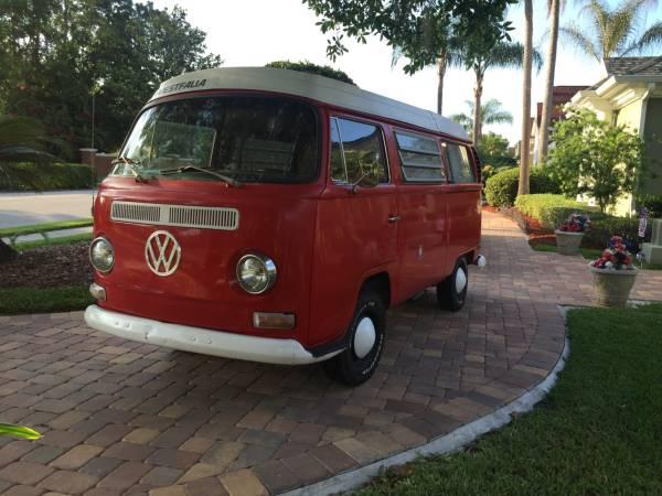 1970 vw bus camper westfalia for sale in winter garden fl