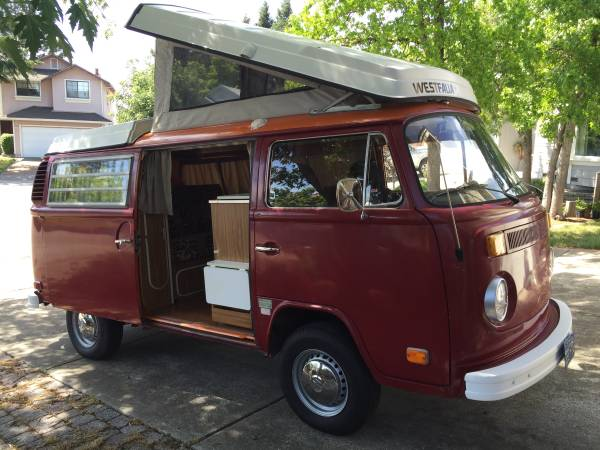 vw bus for sale in ohio westfalia camper van conversions. Black Bedroom Furniture Sets. Home Design Ideas