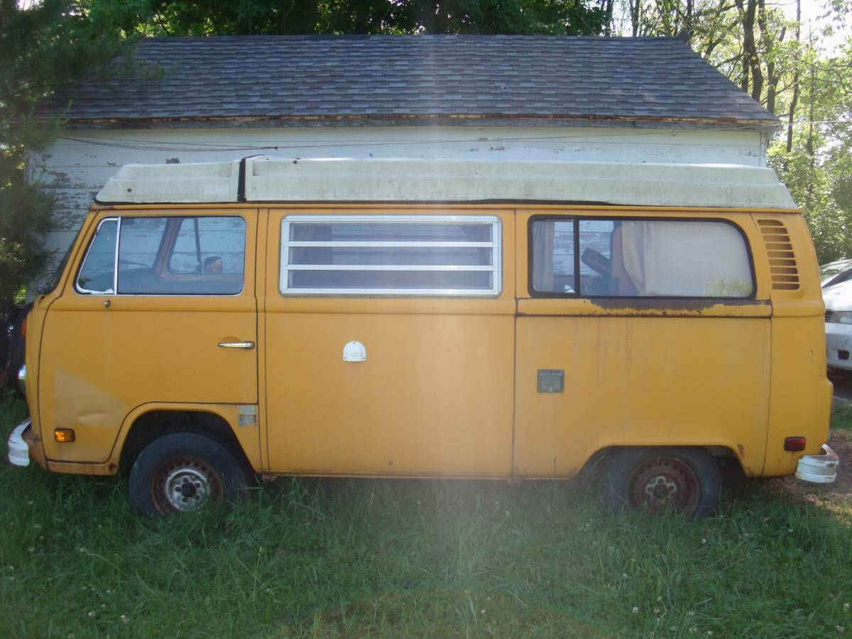 1976 vw bus camper westfalia for sale in ithaca ny. Black Bedroom Furniture Sets. Home Design Ideas