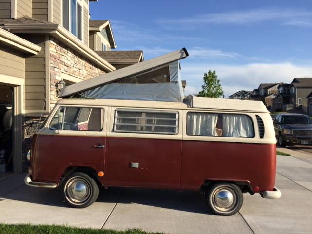 1969 vw bus camper conversion for sale in windsor co. Black Bedroom Furniture Sets. Home Design Ideas