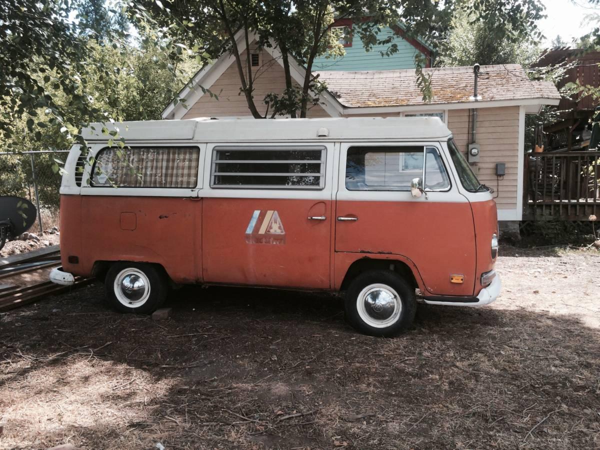 1970 vw bus camper westfalia for sale in spokane wa. Black Bedroom Furniture Sets. Home Design Ideas