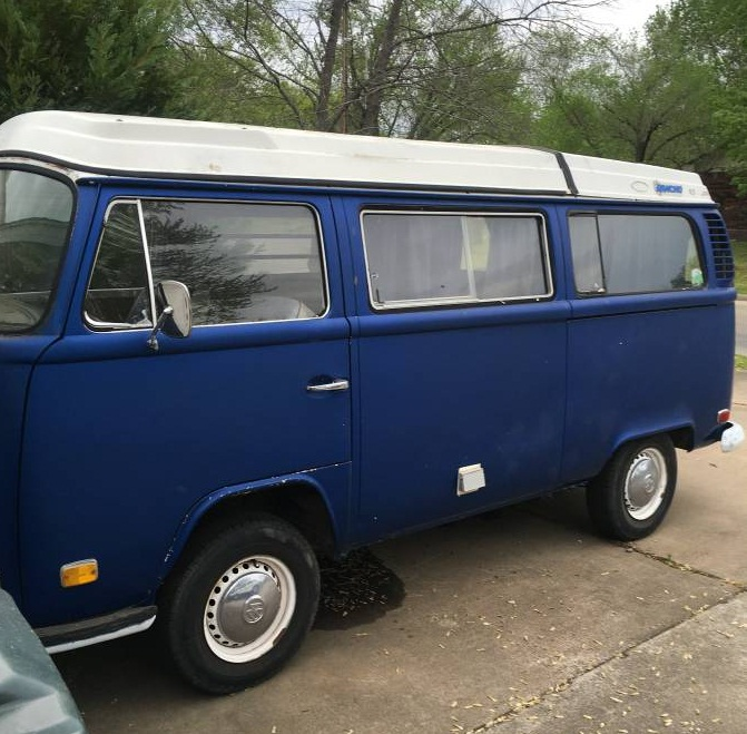 1972 VW Bus Camper Westfalia For Sale in Claremore, OK