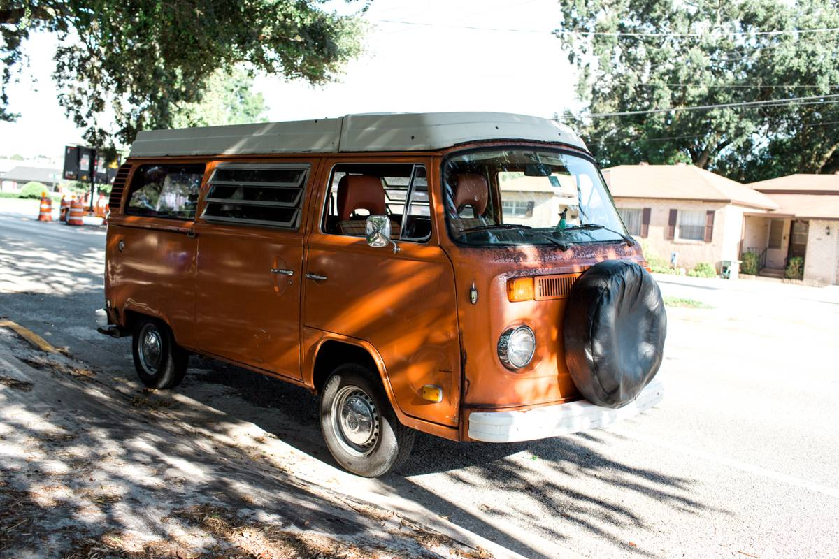 1975 VW Bus Camper Westfalia For Sale in Downtown Orlando, FL
