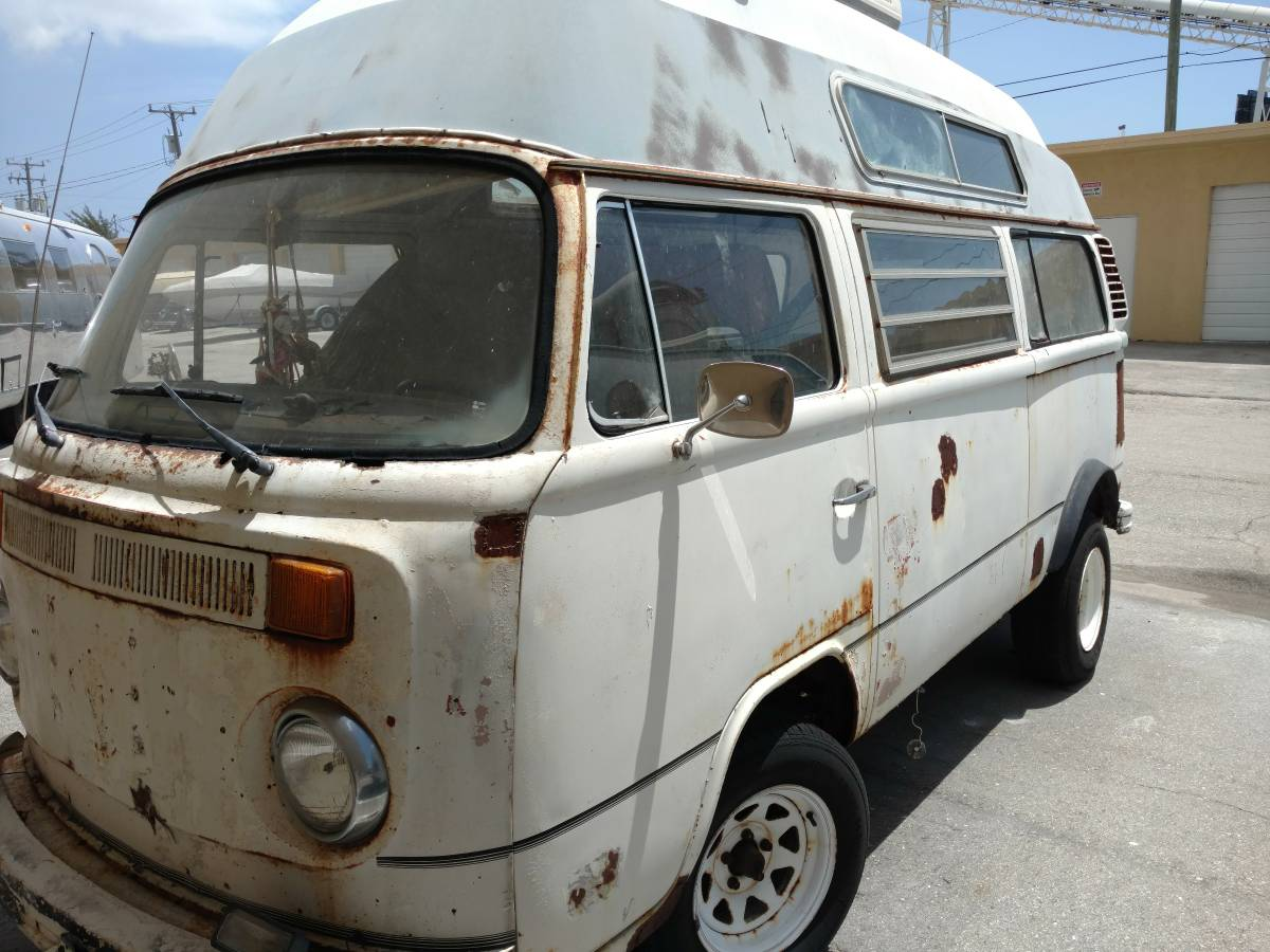 1975 VW Bus Camper High Top For Sale in Lake Worth, FL
