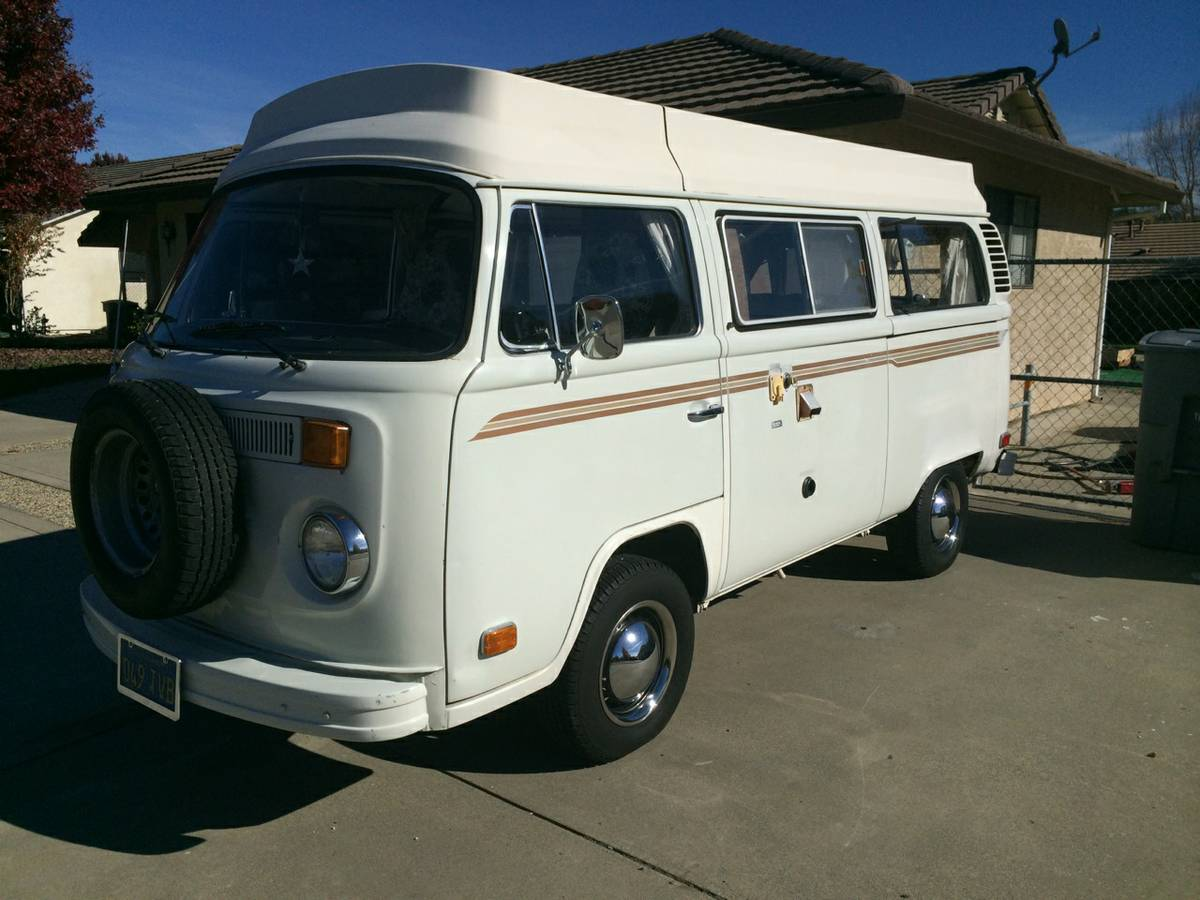 1977 vw bus camper riviera for sale in oroville ca. Black Bedroom Furniture Sets. Home Design Ideas