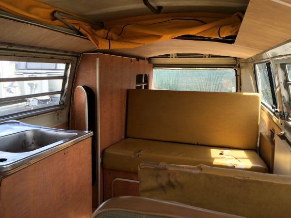 1970 VW Bus Camper Westfalia For Sale In Dublin, CA