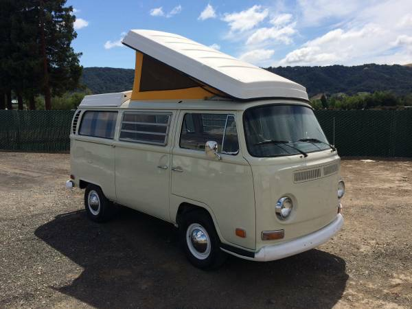 Craigslist Sf Bay Area >> 1970 VW Bus Camper Westfalia For Sale in Dublin, CA