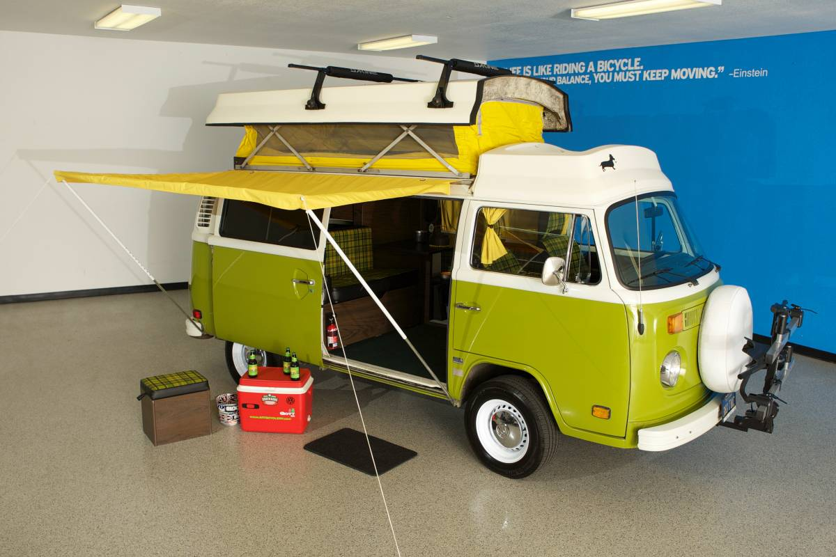 1978 Vw Bus Camper Riviera For Sale In San Luis Obispo Ca