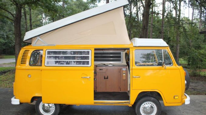 1977 vw bus camper westfalia for sale in jacksonville fl. Black Bedroom Furniture Sets. Home Design Ideas