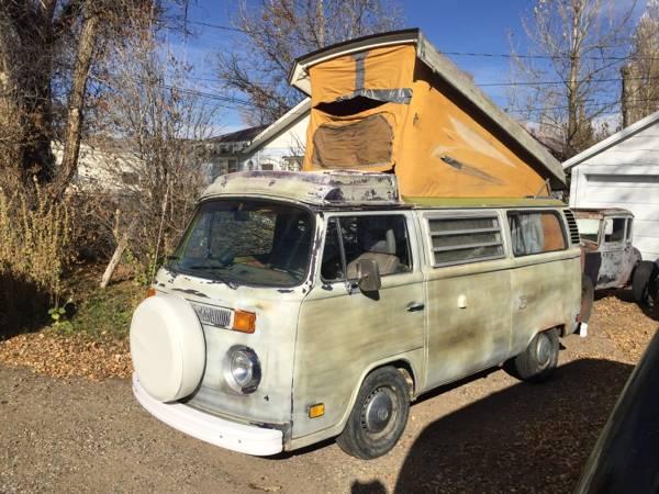 1978 VW Bus Camper Westfalia For Sale in Hayden, CO