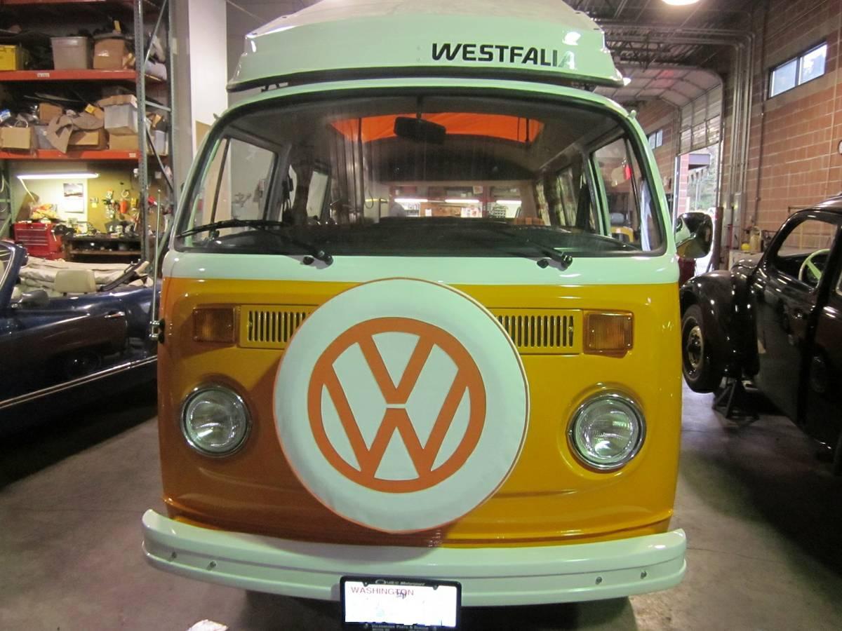 1973 VW Bus Camper Westfalia For Sale in Milton, Washington