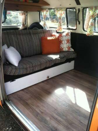 1973 Vw Bus Camper Poptop For Sale In Seaside Or