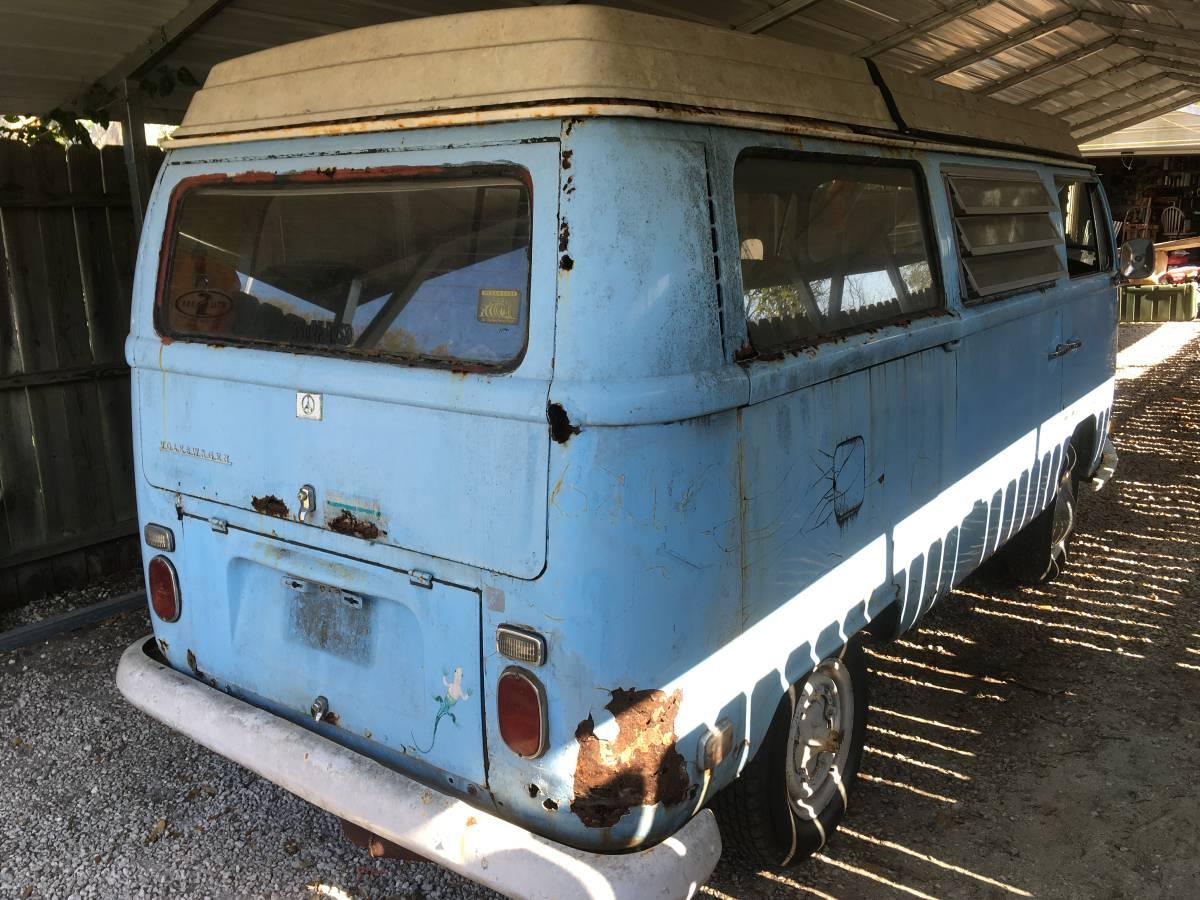 volkswagen  bay window campmobile  sale  st augustine fl