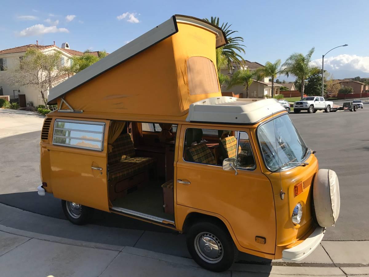 1977 VW Bus Westfalia Camper For Sale in Riverside, California - $27K