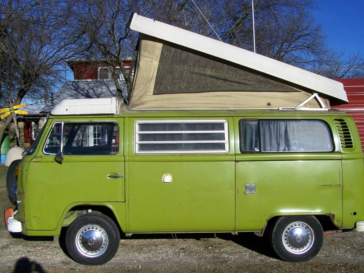 1970 Vw Bus >> 1978 VW Camper Bus For Sale in Gainesville, Texas - $10K