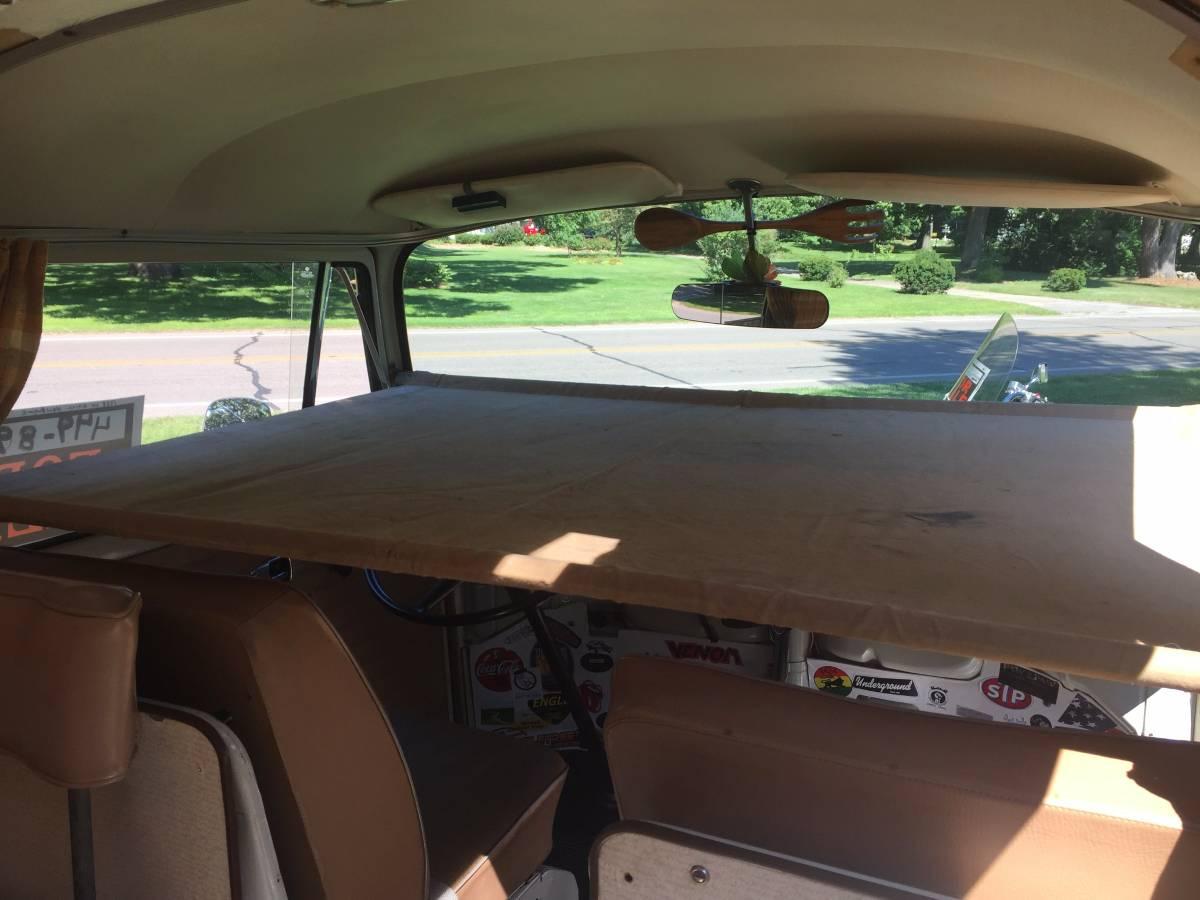 1968 Vw Bus Camper Pop Top 1641cc For Sale In Benton