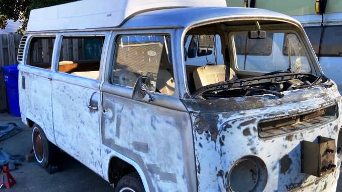1972 VW Bus Camper Sportsmobile For Sale in Suffolk, Virginia