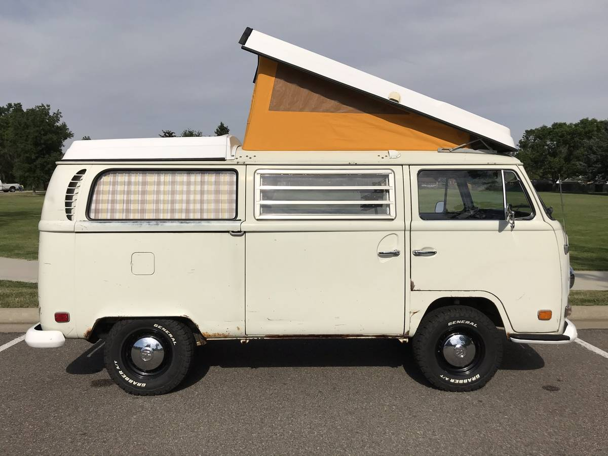 1971 VW Bus Camper Westfalia Campmobile For Sale Wheat ...